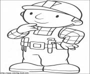 Print Bob the builder 10 coloring pages