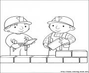 Print Bob the builder 60 coloring pages