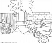 Print Bob the builder 12 coloring pages