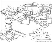 Print Bob the builder 41 coloring pages