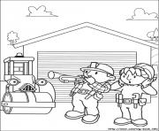 Print bob the builder 100 coloring pages