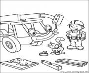 Printable bob the builder 81 coloring pages