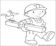 Print Bob the builder 01 coloring pages
