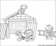 Print Bob the builder 37 coloring pages