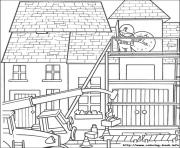 Print Bob the builder 40 coloring pages