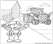 Printable Bob the builder 73 coloring pages