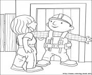 Printable Bob the builder 23 coloring pages