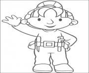 Print Bob the builder 39 coloring pages