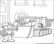 Printable bob the builder 87 coloring pages