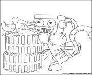 Print Bob the builder 14 coloring pages