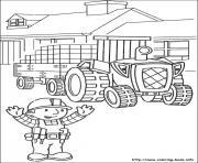 Printable Bob the builder 79 coloring pages