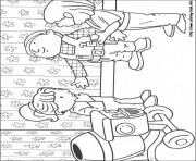 Print Bob the builder 22 coloring pages