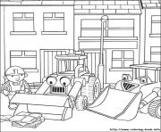 Print Bob the builder 43 coloring pages