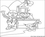 Print Bob the builder 47 coloring pages