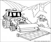 Print Bob the builder 72 coloring pages