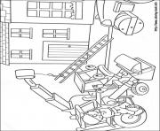 Printable Bob the builder 03 coloring pages