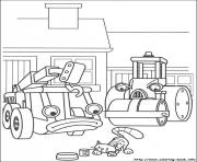 Print bob the builder 98 coloring pages