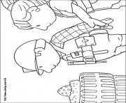 Print Bob the builder 18 coloring pages