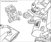 Print Bob the builder 54 coloring pages