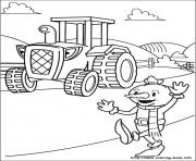 Print Bob the builder 62 coloring pages