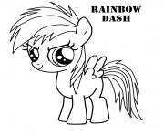 rainbow dash very cute magic