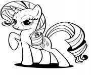 rainbow dash cute pony coloring pages
