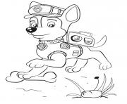 paw patrol school learning stuff coloring pages