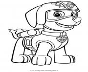 Printable paw patrol zuma ready to fly coloring pages