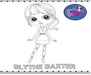 Printable blythe baxter coloring pages