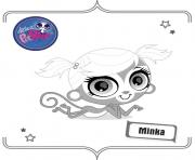 Printable minka coloring pages
