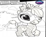 Print special edition zebra zinnia gardner coloring pages
