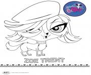 Print zoe trent coloring pages