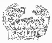 wild kratts coloring pages coloring pages