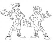 Print wild kratts brother coloring pages coloring pages