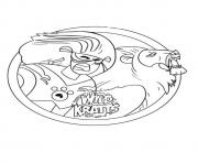 wild kratts printable  coloring pages