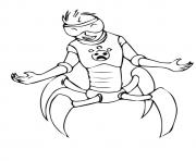 wild kratts The Aline  coloring pages