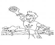 wild kratts The Christ  coloring pages