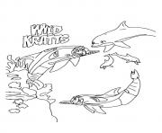 wild kratts The In Underwater Expedition coloring pages