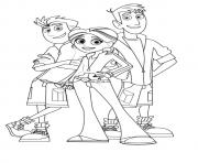 Print wild kratts coloring pages coloring pages