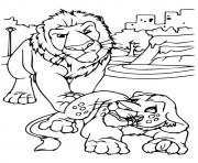 wild kratts lion coloring pages