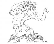 wild kratts The Martin  coloring pages