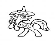 Printable A Braeburn my little pony coloring pages