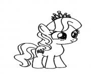Printable A Diamond Tiara my little pony coloring pages