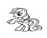Printable A Shoeshine my little pony coloring pages