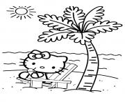 Print The hello kity kitten coloring pages