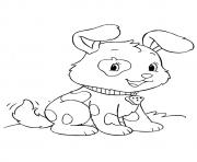 The Spotted Pup puppy coloring pages