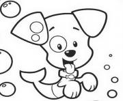 puppy bubble guppies sa6c4 coloring pages