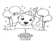 Printable The My Birthday coloring pages