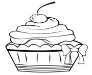 Printable cute cupcake 3e3f coloring pages