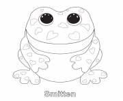 Printable smitten beanie boo coloring pages